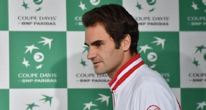 Federer (Afp)