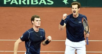 Tennis, finale di Coppa Davis: Gran Bretagna in vantaggio 2-1 sul Belgio