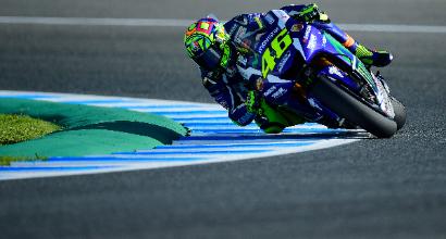 "MotoGP a Jerez, Rossi: ""Mi manca ancora un pelino"""