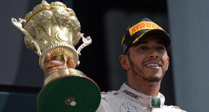 """F1 a Silverstone, Hamilton: """"Un weekend perfetto"""""""