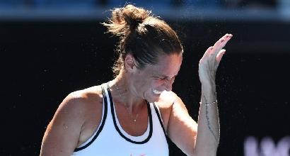 Tennis:Vinci e Schiavone subito out