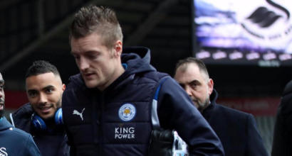 Leicester, Vardy shock:
