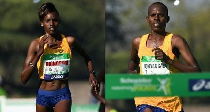 Atletica: alla maratona di Parigi trionfano Lonyangata e Rionoripo, marito e moglie keniani