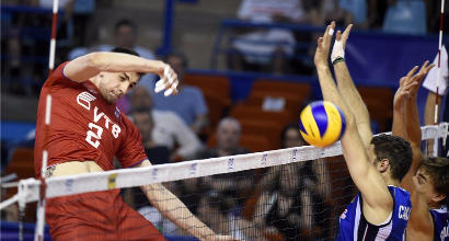 Volley, World League: l'Italia cade ancora, la Russia vince al tie-break