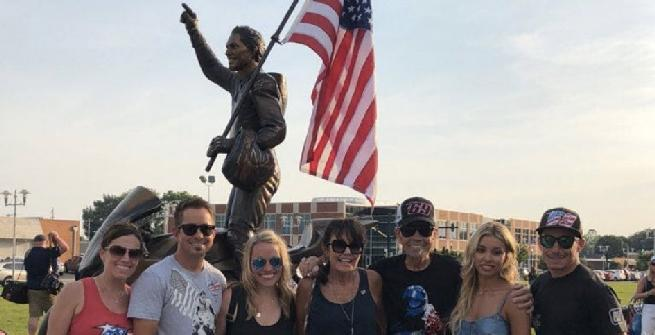 Una statua per Hayden a Owensboro