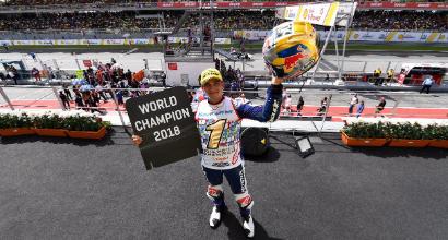 Moto3, Martin è campione del mondo