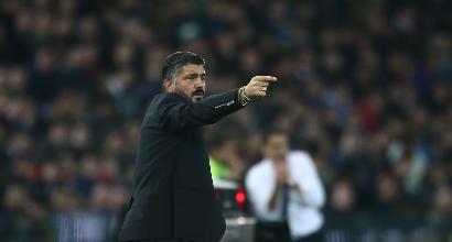 """Milan, la  zona-Romagnoli  fa esplodere Gattuso: """"Vittoria giusta, la squadra mi è piaciuta molto"""""""