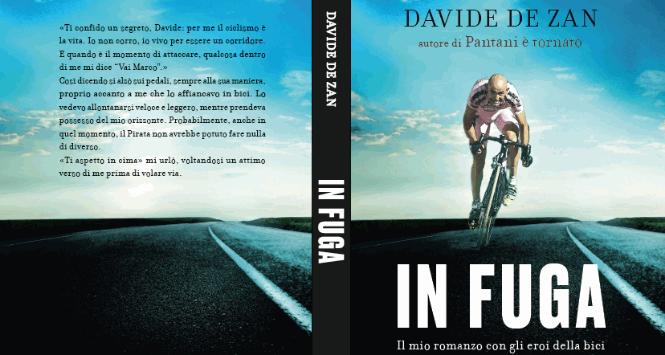 """Libri, De Zan """"in fuga"""" con gli eroi della bici"""