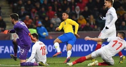 Amichevole, Gabriel Jesus trascina il Brasile: contro la Repubblica Ceca finisce 3-1