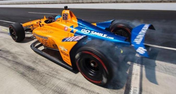 Alonso, che delusione: per ora non è qualificato per la 500 Miglia di Indy