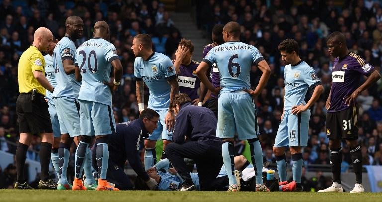 Manchester City, paura per Silva