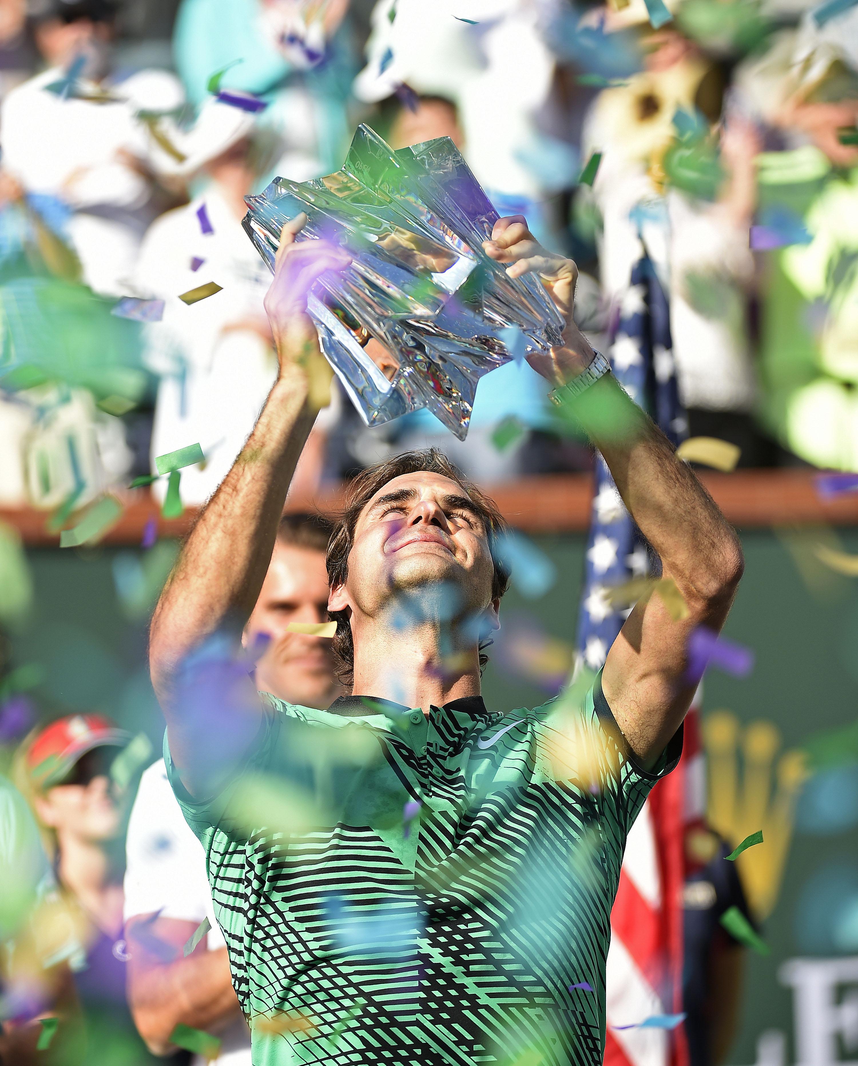 Federer, il re è tornato
