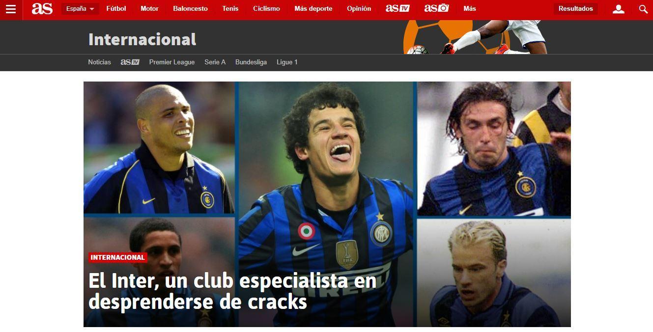Inter, Coutinho e i suoi