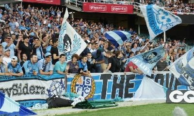 I tifosi del Sydney