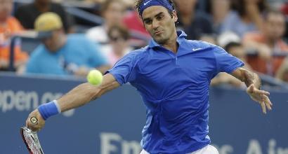 Federer, Foto LaPresse