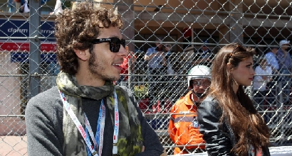 Valentino Rossi e Linda Morselli, LaPresse
