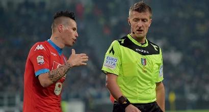 """Napoli, Hamsik: """"Alla pari con la Juve: ora torniamo subito a vincere"""""""