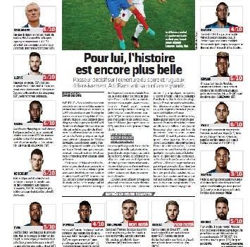 L'Equipe boccia la Francia: 4 in pagella a Pogba