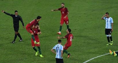 Rio 2016, calcio: Argentina sconfitta al debutto, pari della Germania