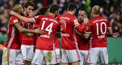 CoppaGermania:Bayern in semifinale