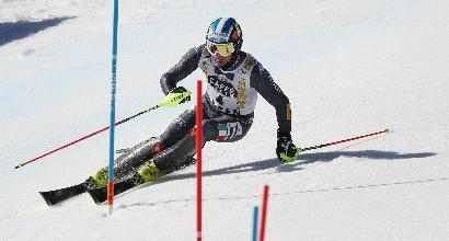 Sci, finali Aspen: lo slalom è di Myhrer, ma fa festa anche Moelgg
