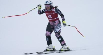Coppa del Mondo sci: Weirather vince il superG a Lake Louise, Schnarf sesta