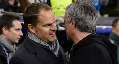 Mourinho, botta e risposta con De Boer: