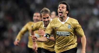 Standing ovation per pochi:CR7 con Totti e Del Piero
