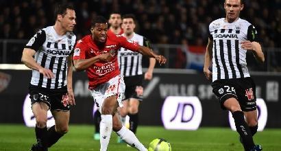 Ligue 1: Nizza, solo un punto con l'Angers