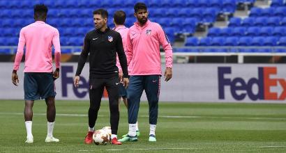 """Atletico, Simeone: """"Giochiamo la finale con umiltà"""""""