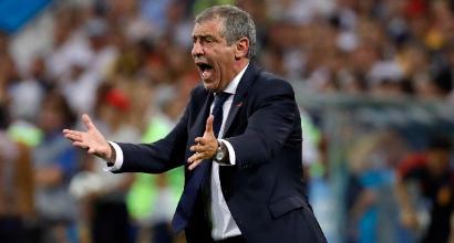 MONDIALI - Cristiano Ronaldo stritolato dal Matador Cavani, Uruguay-Portogallo 2-1