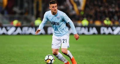 Lazio, giallo Milinkovic-Savic