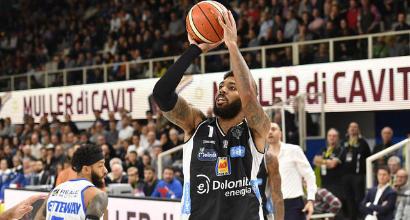 Basket, Serie A: Trento supera Reggio Emilia