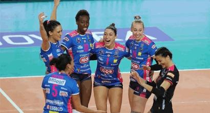 Volley: Lube ok con Castellana, Novara vola nella Lega femminile