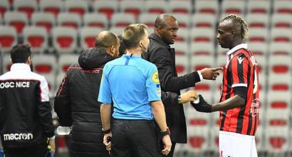 Nizza, pugno duro di Vieira con Balotelli: non convocato col Guingamp