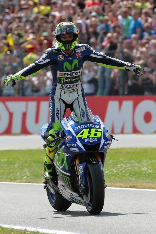 MotoGP, Assen: trionfa il Dottore volante