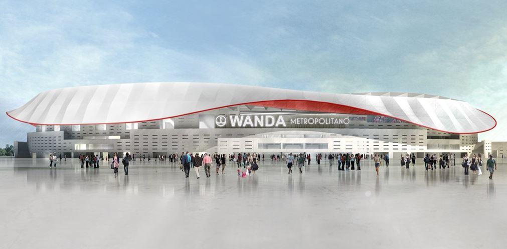 Atletico, il nuovo stadio: si chiama Wanda Metropolitano