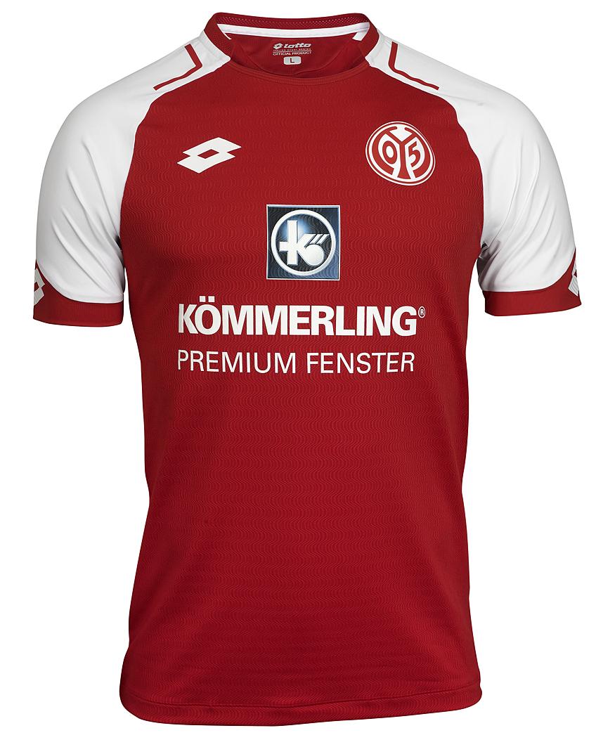 Mainz 2017-2018: la nuova maglia firmata Lotto