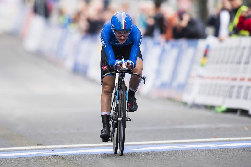 Mondiali, cronometro donne juniores: doppietta Italia, oro alla Pirrone
