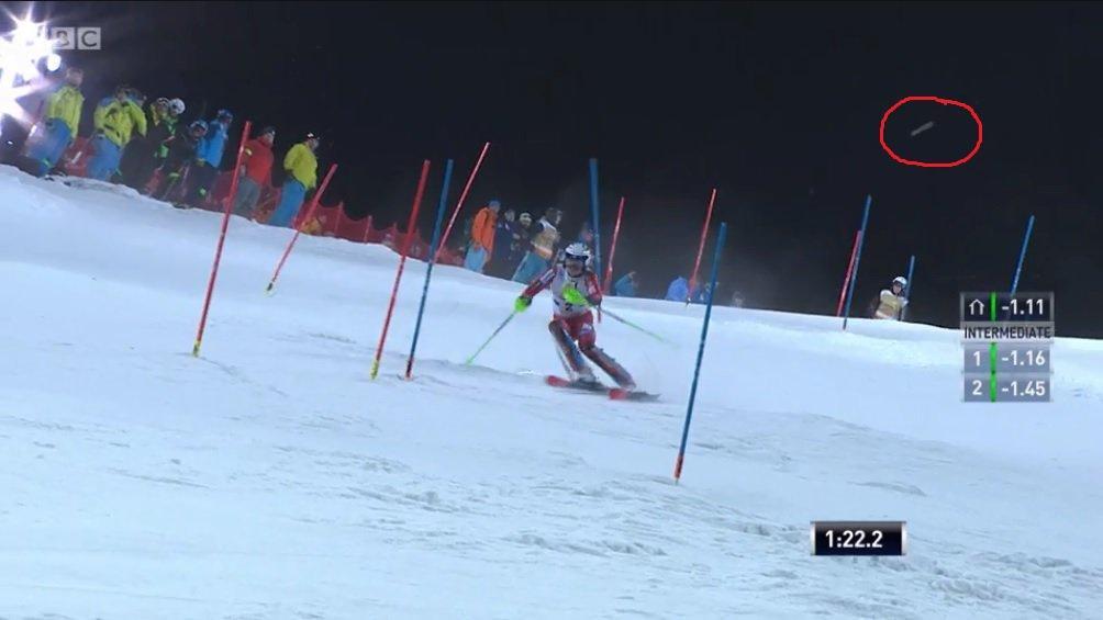 Slalom Schladimng, palle di neve contro Kristoffersen