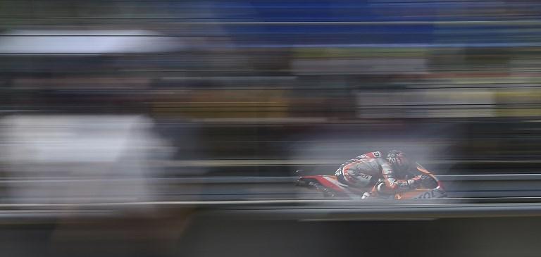 Dani Pedrosa durante le prove libere del GP di Brno (4 agosto)