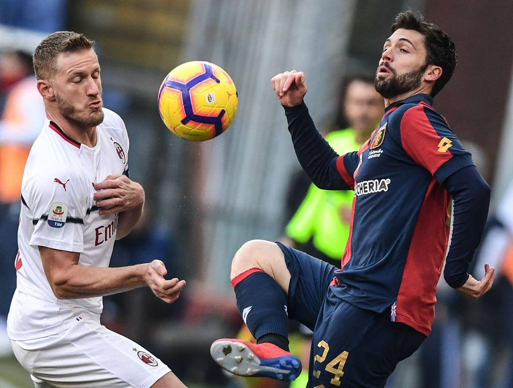 Serie A: il Milan espugna Marassi e vola al 4° posto