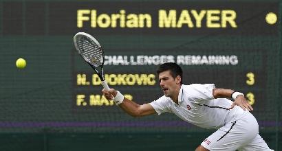 Novak Djokovic, foto Lapresse