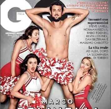 Belinelli nudo sulla copertina di GQ