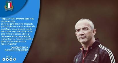 Rugby, O'Shea nuovo ct dell'Italia