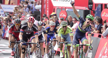 Vuelta 2016, 18a tappa: urlo Cort Nielsen, quarto Bennati