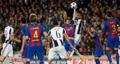 Champions, dopo il pari con il Barça Juve terza nel ranking