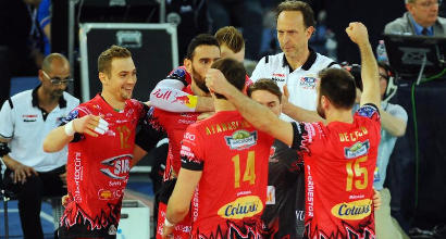 Volley, Champions: Perugia in finale, Civitanova cade al tie-break