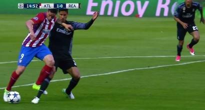 Champions League, la moviola di Atletico-Real