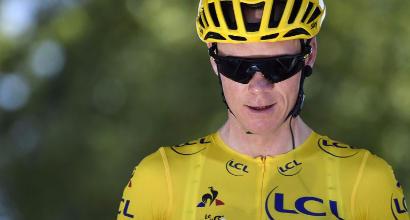"""Tour de France, Froome: """"Il contatto con Aru è stato un mio errore, mi sono subito scusato"""""""